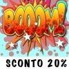 SCONTO 20 % - (80 P')